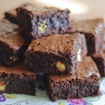 Rezept Triple Chocolate Brownies