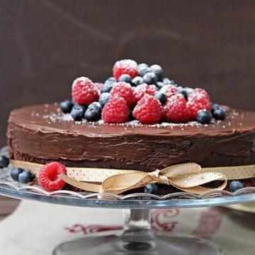 Rezept Triple Schkoladen Kuchen