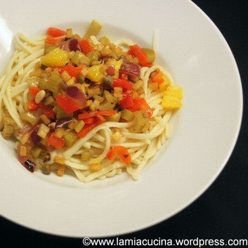 Rezept Troccoli mit Orangen Caponata