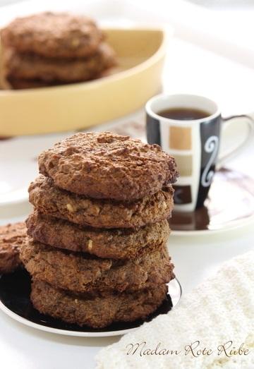 Rezept Typisch amerikanische Peanut Butter Cookies in der Vollkorn-Plätzchen-Variante