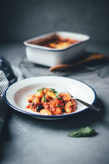 Rezept Überbackene Gnocchi alla puttanesca