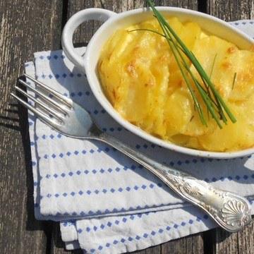 Rezept Überbackene Kartoffel