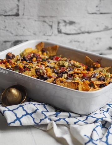 Rezept Überbackene Veggie Nachos deluxe