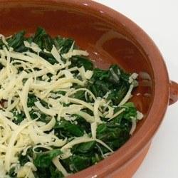 Rezept Überbackener Spinat