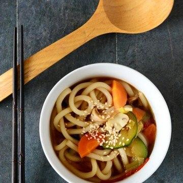 Rezept Udon-Nudelsuppe