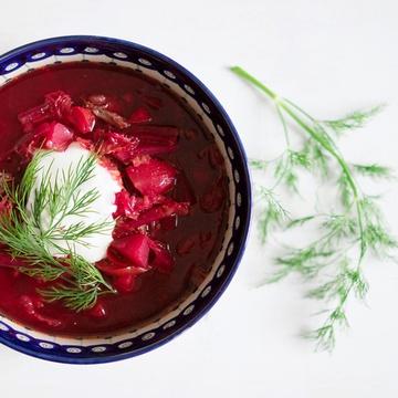 Rezept Ukrainischer Rote-Bete-Eintopf mit Rindfleisch