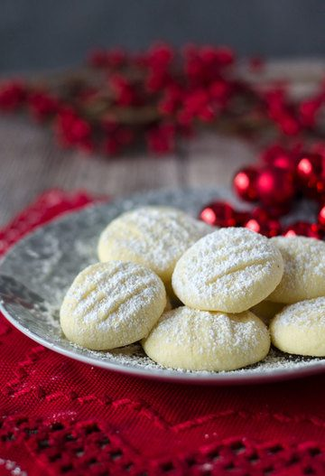 Rezept unglaublich zarte Schneeflöckchen Kekse