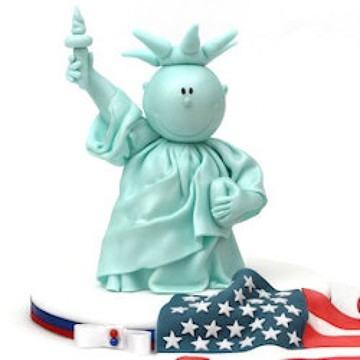 Rezept USA Motivtorte mit Freiheitsstatue