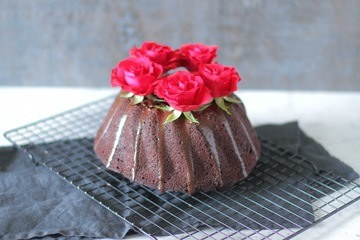 Rezept Valentinstag Schoko-Kuchen