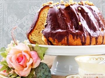 Rezept Vanille-Bananen Gugelhupf mit Spekulatius-Schokoladenglasur