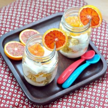 Rezept Vanille Blutorangen Dessert