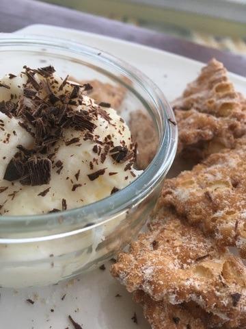Rezept Vanille-Cremé-Dipp für Kekse