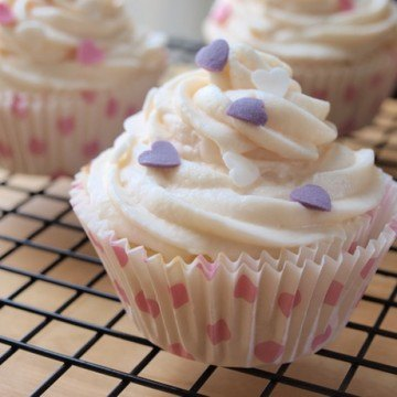 Rezept Vanille Cupcakes mit Marshmallow Frosting