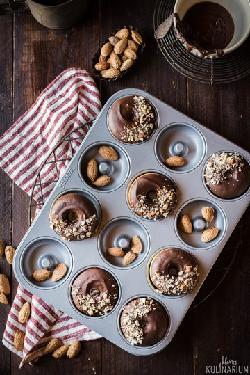 Rezept Vanille Donuts aus dem Backofen