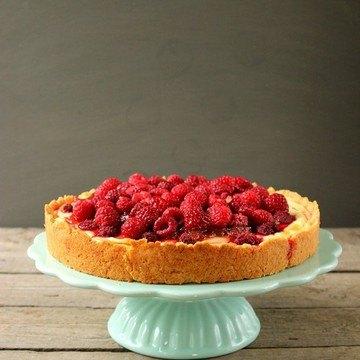 Rezept Vanille-Himbeer-Quarkkuchen