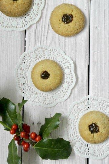 Rezept Vanille Kekse mit Marmelade