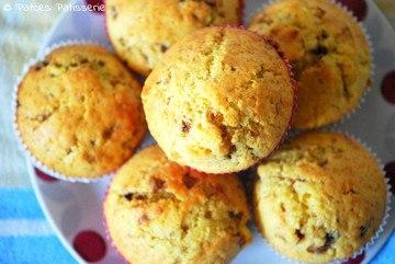 Rezept Vanille-Muffins mit Nougat