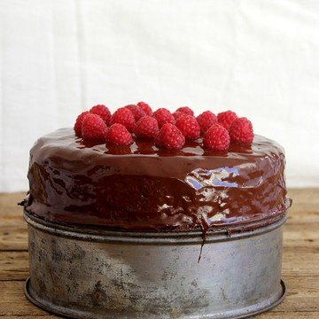 Rezept Vanille-Schoko-Marzipan Torte