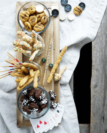 Rezept Vanille- und Salzstangen // Schoko- und Curry Cracker