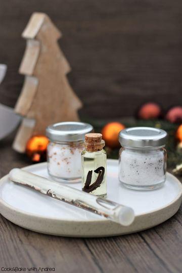 Rezept Vanilleextrakt, -öl und -zucker selber machen