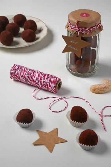Rezept Vanillekipferl Trüffel zu Weihnachten