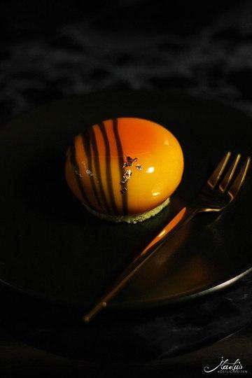 Rezept Vanilletörtchen mit Orangen-Sanddornkern