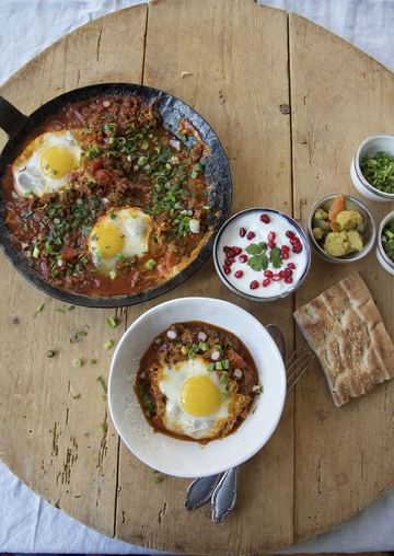 Rezept Vavishka - ein schnelles persisches Pfannengericht