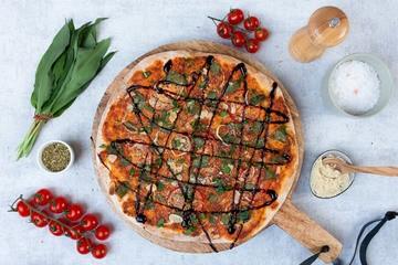 Rezept Vegane Bärlauch Pizza