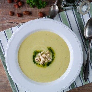 Rezept Vegane Blumenhohlsuppe