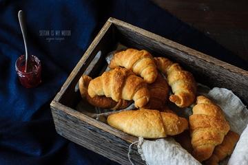 Rezept Vegane Croissants