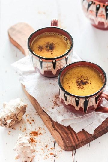 Rezept Vegane goldene Milch