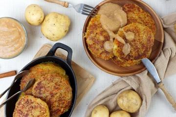 Rezept Vegane Kartoffelpuffer