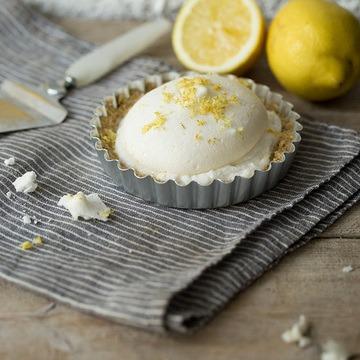 Rezept Vegane Kokos-Zitronen-Törtchen mit Baiser