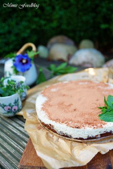 Rezept Vegane Minz-Kakao-Torte