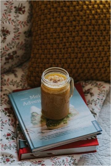 Rezept vegane Pumpkin Spice Latte