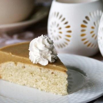 Rezept Vegane Rhabarber-Torte