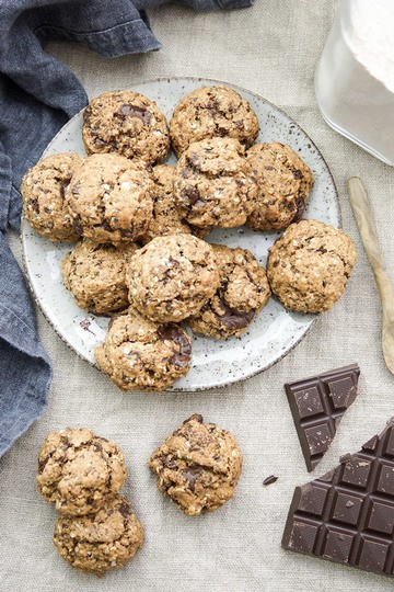 Rezept Vegane Schoko-Cookies