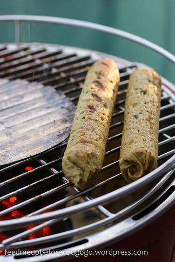 Rezept Vegane Seitanwürste mit Kräutern