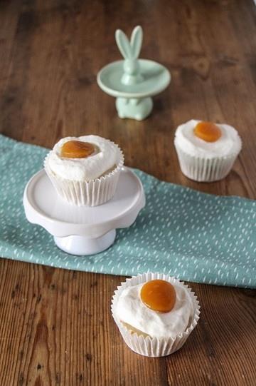 Rezept Vegane Spiegelei-Muffins