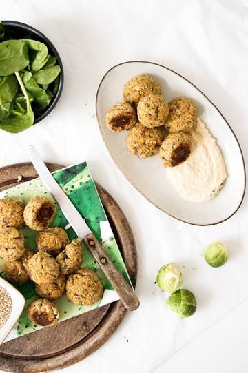 Rezept vegane und glutenfreie Falafel