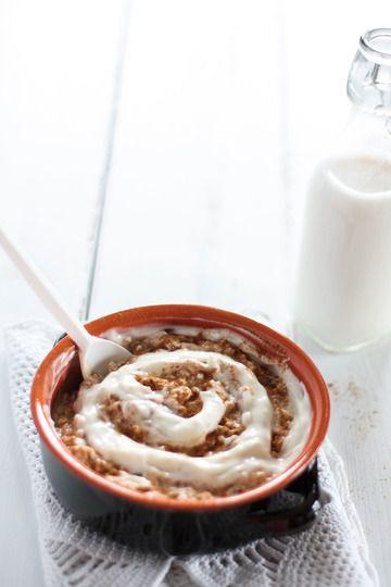 Rezept Vegane Zimtschnecken Overnight Oats
