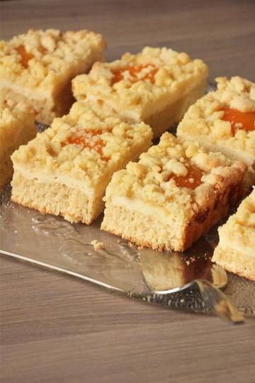 Rezept Veganer Aprikosen-Quark Streusel