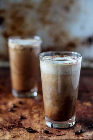 Rezept Veganer Kokos Eiskaffee