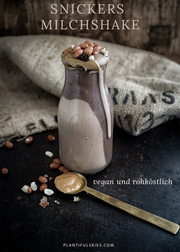 Rezept Veganer Snickers Milchshake