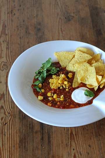 Rezept Veganes Chili sin carne