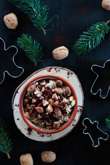 Rezept Veganes Lebkuchen Porridge