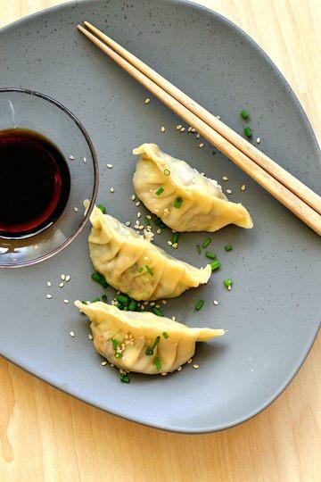 Rezept Vegetarische Gyoza/Jiaozi