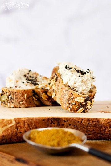 Rezept vegetarischer Brotaufstrich - Dattel-Curry
