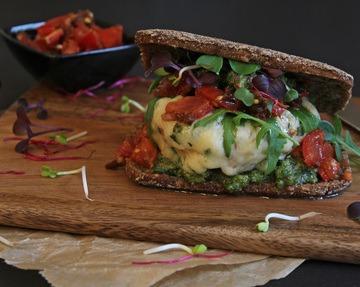 Rezept Vegetarischer Burger mit Portobellos