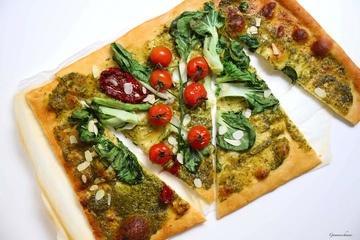 Rezept Vegetarischer Flammkuchen